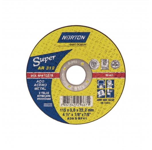 DISCO CORTE 300X3,2X25,40 AR312 SUPER NORTON