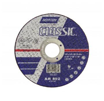 DISCO CORTE 115X3,0X22,22 AR302 CLASSIC NORTON
