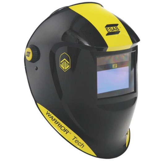 MASCARA AUTOMATICA WARRIOR TECH  - PRETA ESAB