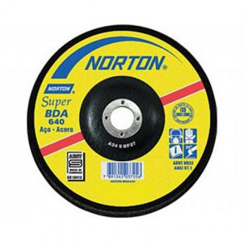 DISCO DESBASTE 178X6,4X22,22 BDA640 SUPER  NORTON