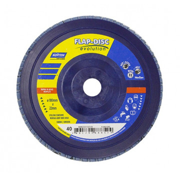 FLAP DISC R-822 0080 FD 115X22 0 NORTON