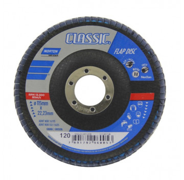FLAP DISC 115 X 22 GR50 CLASSIC NORTON
