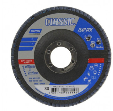 FLAP DISC 0080 PD 180X22 CLASSIC NORTON