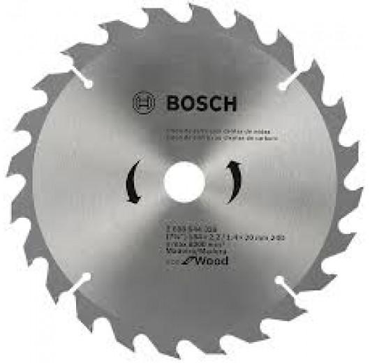 DISCO DE SERRA CIRCULAR ECO D184X24T BOSCH COD 2608.644.329-000