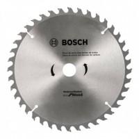 DISCO DE SERRA CIRCULAR ECO D184X40T BOSCH COD 2608.644.330-000