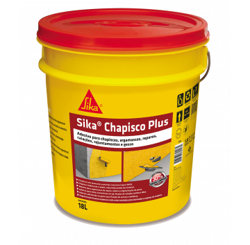 Sika Chapisco Plus - Balde 18 L