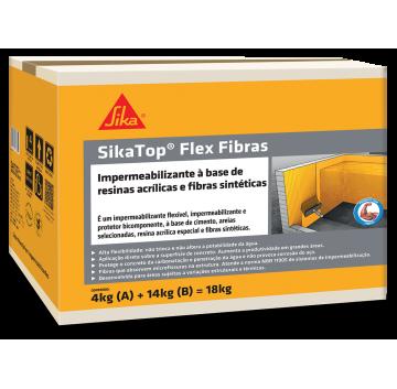 SikaTop Flex Fibra - Caixa 18 KG