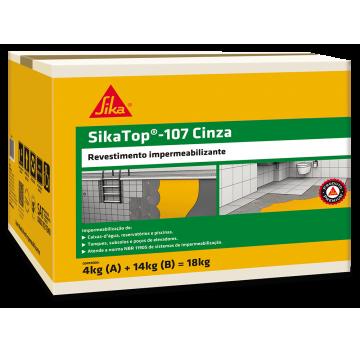 SikaTop - 107 Cinza - Caixa 18 KG